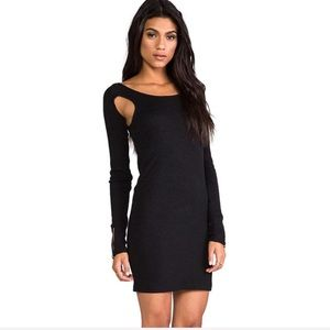 NWT SOMEDAYS LOVIN Revolve Black Mini Dress